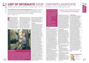 2014 07 AG - Grip op informatie door contentclasificcatie